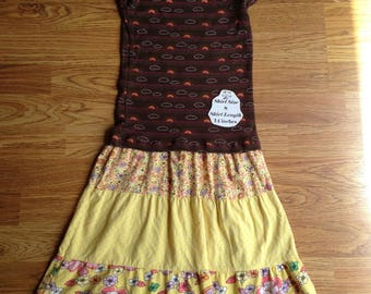 Sm Clouds and Flowers Dress