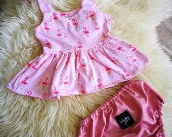 Baby Girl Peplum Dress