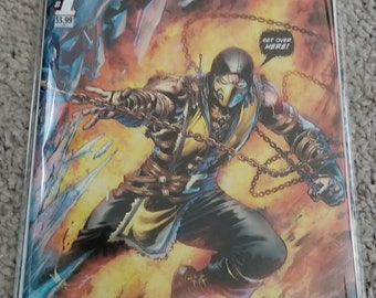 Mortal kombat comic NM