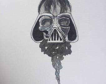 Darth Vader illustration