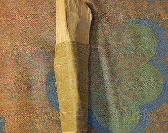 Palo Santo Chunk (lg) - Hemp Wick Wrapped