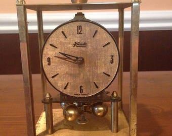 Kundo Kieninger and Obergfell Vintage Clock