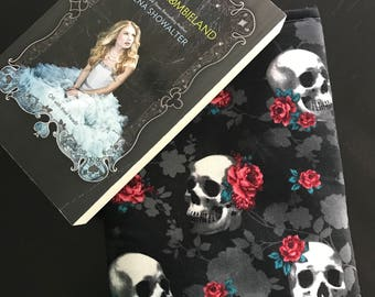 Rose Skull Book Sleeves