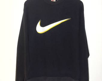 Rare!Vintage Nike Embroidred Big logo spellout Streetwear swagger design dope hypebeast highnobiety hypebae dress is Art!!