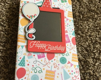 Mini Folio Birthday Card for him or her