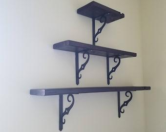 Handmade wall shelf