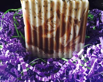 Coffee and Cocoa Butter Soap