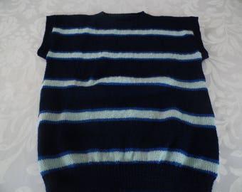 Boy size 8 years striped tank top