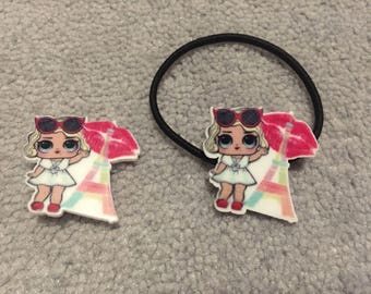 NEW LOL Surprise Doll Pins and Hair ties