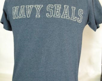 Navy Seals t shirt, short sleeve, size medium