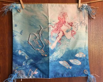 Mermaid #2 -- pillow cover