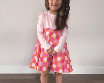 Size 3 L/S Pink Dress