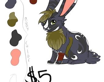 Fursona For Sale - Bunny
