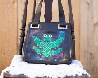 Galaxy Koi Butterfly Handbag