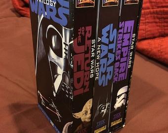 Star Wars Trilogy REMASTERED 1990 VHS