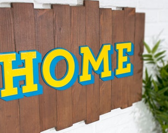 Recycled wood - Home - poster