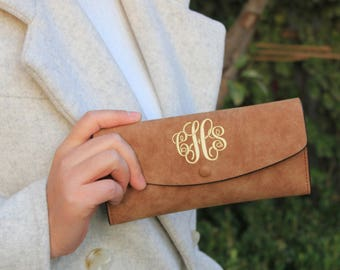 women wallet, monogrammed clutch, monogrammed purse, womens bag, womens purse,women wallets,minimalist wallet,clutch wallet,monogram wallet
