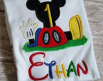 Mickey Mouse Clubhouse Birthday Shirt **Fast Shipping**