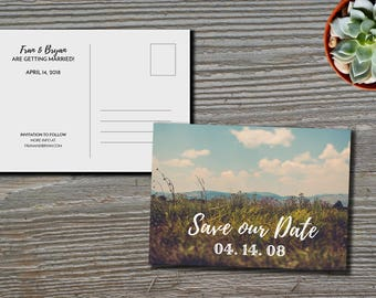 Save the Date Printable File