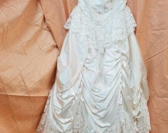 Vintage Southern Belle Wedding Gown