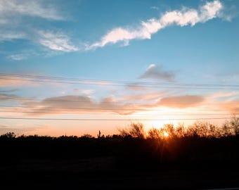 Sunset of 2-12-17 #2