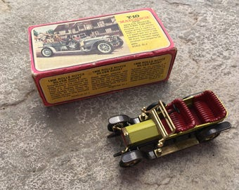 MATCHBOX MODELS of YESTERYEAR No Y-10 1906 Rolls-Royce Silver Ghost Vintage Collectible Model Car