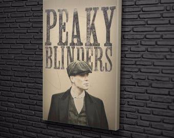 Peaky Blinders Sketch Canvas Design