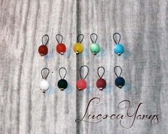 Markers mix and match, stitch marker, marker, row counter