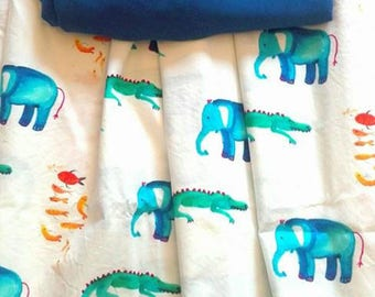 Elephant cloth