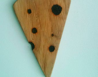 Wooden Piece of Cheese Toy, squirrel, Home Toy, Food Toy, Handmade Wood Toy, Montessori Toys, Pyrography