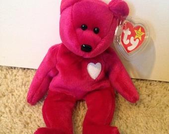 Ty Beanie Babies Original Valentina Bear