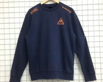 Vintage Le Coq Sportif Sweatshirts Nice Design