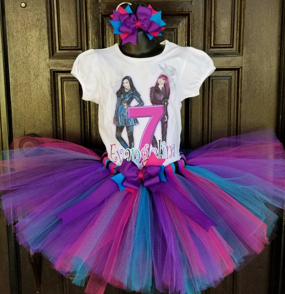 Inspired By Descendants 2 Birthday Tutu