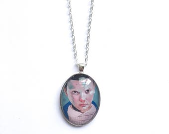 Eleven stranger things pendant necklace wearable art