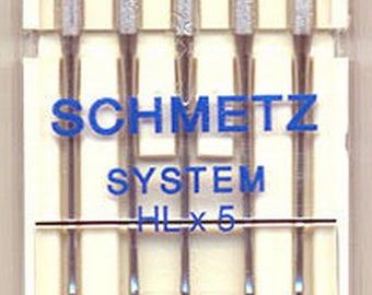 Schmetz HLX5 Quilting 5-pk sz16/100 – SHLX5-100