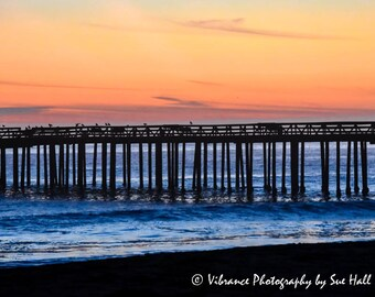Sunset over the Pier, Aptos, California