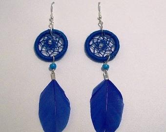 Dream catchers, spring earrings