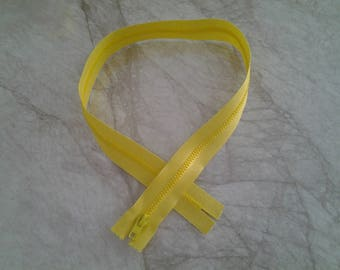 Yellow zipper Canary length 70 cm