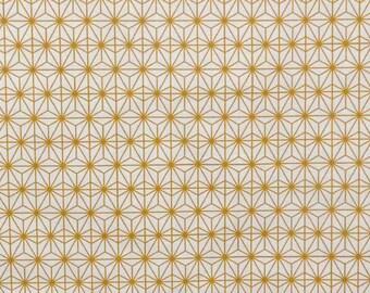 Fabric, Scandinavian, Eastern Sun, gold, Thévenon