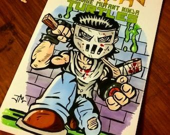 Casey Jones Sketch Cover