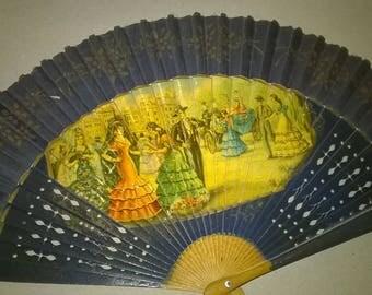 492) genuine Spanish fan