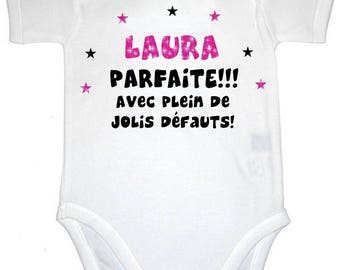 Bodysuit perfect with plenty of... personalized with name
