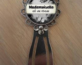 """Bookmark """"mademoiselle is a dream"""""""