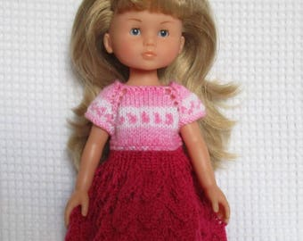 The Darling pink dress doll