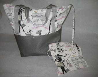 "Tote shopping ""Walk in the capital"" - custom"