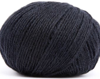 Wool Buttercup - CLUB - black 0383
