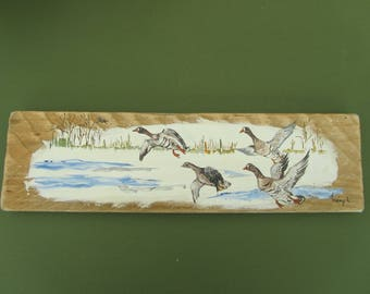 Driftwood: serious winter geese migration period