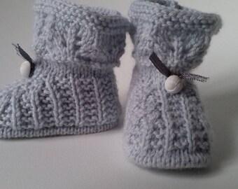 grey slipper yarn very soft