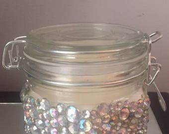 Bling Soy Jar Candle