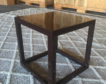 Jonathan Adler - Side Table / Lacquer Cube